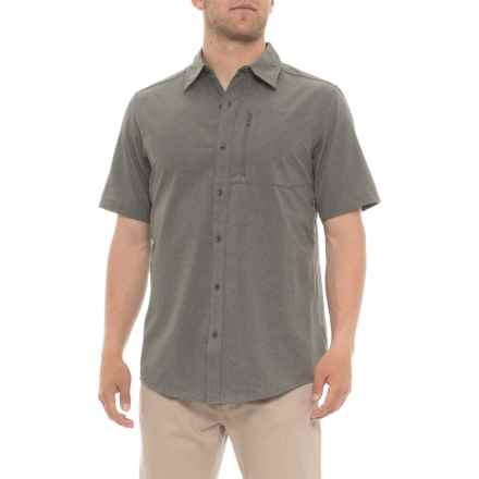 Marmot Cinder Caecius Shirt - UPS 25, Short Sleeve (For Men) in Cinder - Closeouts