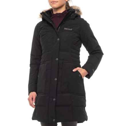 Marmot Clarehall Jacket - Waterproof, 700 Fill Power (For Women) in Black - Closeouts