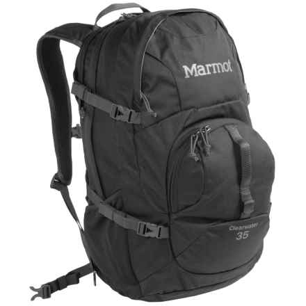 Marmot Clearwater 35L Backpack in Black/Afterdark - Closeouts