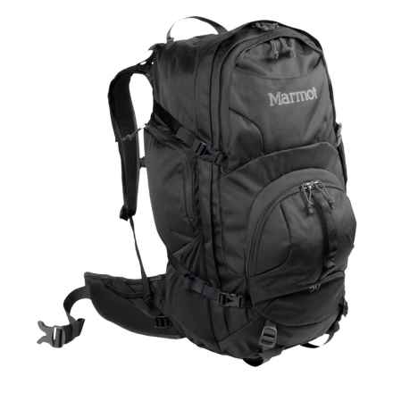 Marmot Clearwater 50L Backpack - Internal Frame in Black - Closeouts