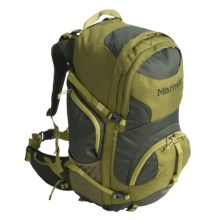 Marmot Clearwater 50L Backpack - Internal Frame in Moss/Green Gulch - Closeouts