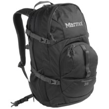 Marmot Clearwater Backpack - 35L in Black/Afterdark - Closeouts
