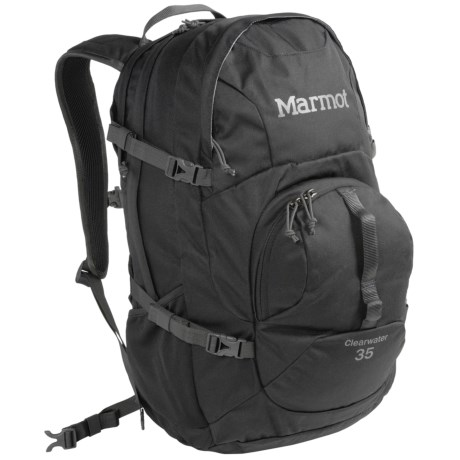 Marmot Clearwater Backpack - 35L in Black/Afterdark