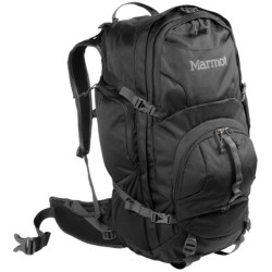 Marmot Clearwater Backpack - Internal Frame, 50L in Black/Afterdark