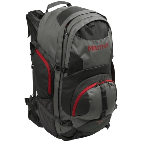 Marmot Clearwater Backpack - Internal Frame, 50L in Cinder/Slate Grey