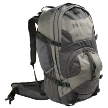 Marmot Clearwater Backpack - Internal Frame, 50L in Fog/Flint - Closeouts