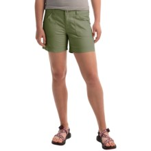 Marmot Cleo Shorts - UPF 50 (For Women) in Stone Green - Closeouts