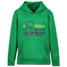 Marmot Coastal Hoodie (For Little and Big Boys) in Greenway - Closeouts