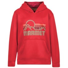 Marmot Coastal Hoodie (For Little and Big Boys) in Team Red - Closeouts
