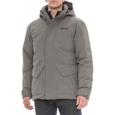 Marmot Colossus Gore-Tex® Down Jacket - Waterproof, 700 Fill Power (For Men) in Cinder - Closeouts
