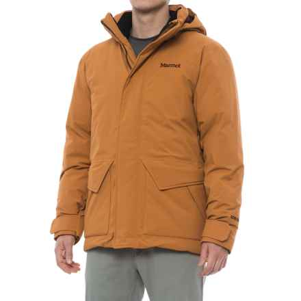 Marmot Colossus Gore-Tex® Down Jacket - Waterproof, 700 Fill Power (For Men) in Golden Bronze - Closeouts