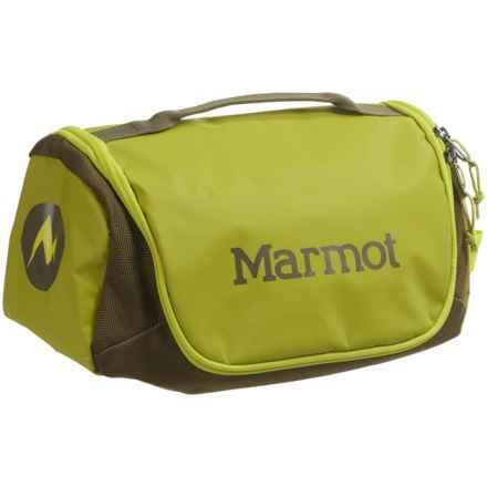 Marmot Compact Hauler Toiletry Bag in Dark Citron/Dark Olive - Closeouts
