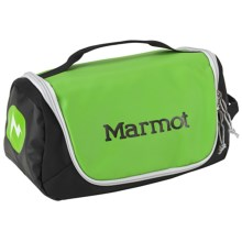 Marmot Compact Hauler Toiletry Bag in Green Envy/Black - Closeouts