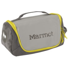 Marmot Compact Hauler Toiletry Bag in Steel/Cinder - Closeouts