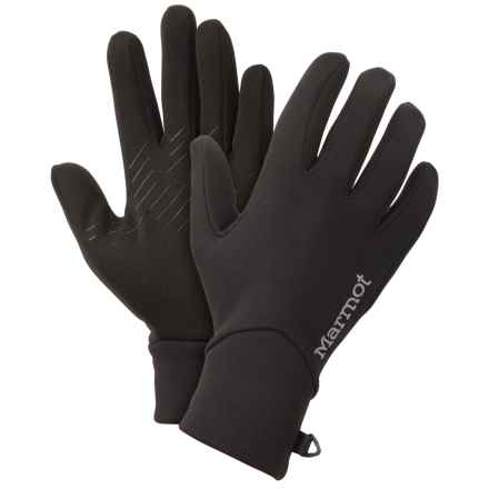Marmot Connect Stretch Gloves - Touchscreen Compatible (For Women) in Black - Closeouts