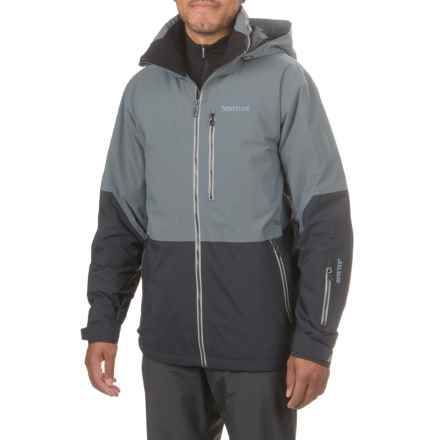Marmot Contrail Gore-Tex® Ski Jacket - Waterproof, Insulated (For Men) in Steel Onyx/Black - Closeouts