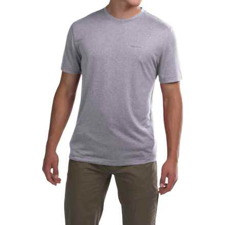 Marmot Conveyor T-Shirt - UPF 30, Short Sleeve (For Men) in Grey Storm Heather - Closeouts