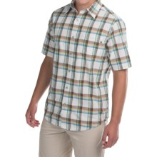 Marmot Cordero Shirt - UPF 20, Short Sleeve (For Men) in Calvary Brown - Closeouts