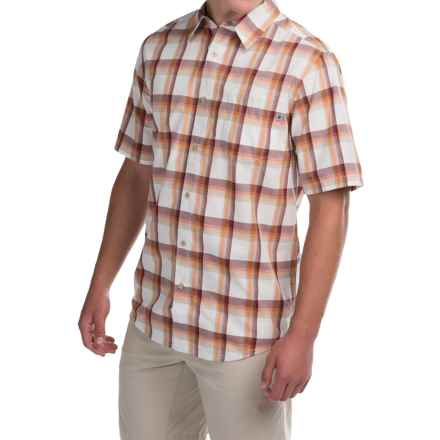 Marmot Cordero Shirt - UPF 20, Short Sleeve (For Men) in Redstone - Closeouts