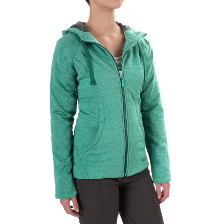 Marmot Corey Hooded Jacket - Insulated (For Women) in Gem Green/Gator