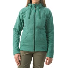 Marmot Corey Hoodie Jacket - Insulated (For Women) in Gem Green/Gator - Closeouts