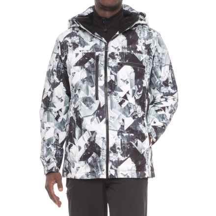 Marmot Corkscrew Featherless Jacket - Waterproof, 700 Fill Power (For Men) in Black Glacier - Closeouts