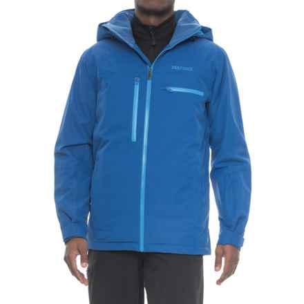 Marmot Corkscrew Featherless Jacket - Waterproof, 700 Fill Power (For Men) in Dark Cerulean - Closeouts