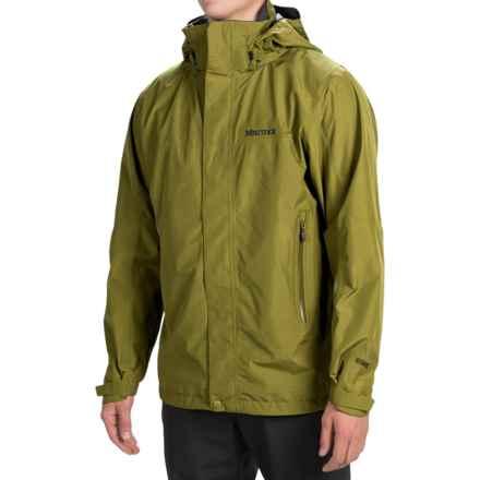 Marmot Cornice Gore-Tex® Jacket - Waterproof (For Men) in Moss - Closeouts