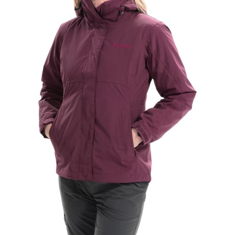 Marmot Cosset Component Jacket - Waterproof, 3-in-1 (For Women) in Dark Wine