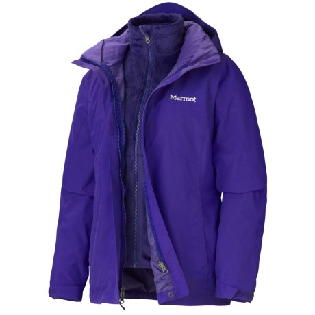 Marmot Cosset Component Jacket - Waterproof, 3-in-1 (For Women) in Electric Blue