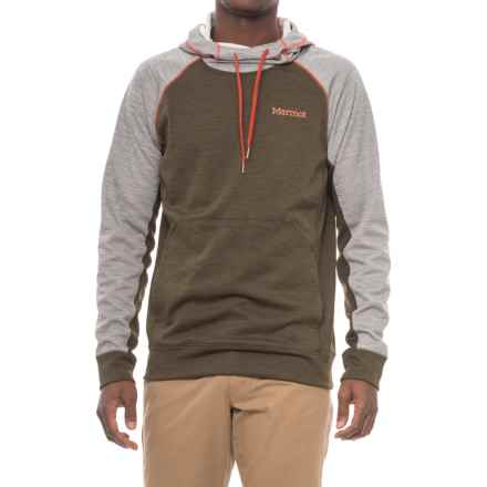 Marmot Cottonwood Hoodie - UPF 50 (For Men) in Forest Night/Grey Storm - Closeouts