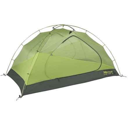 Marmot Crane Creek Tent - 3-Person, 3-Season in Macaw Green/Crocodile