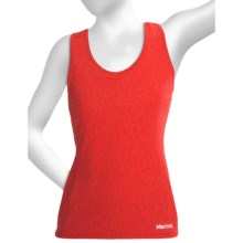 Marmot Crest Tank Top - Built-In Shelf Bra (For Women) in Rocket Red Air - Closeouts