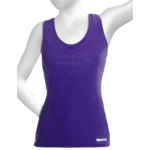 Marmot Crest Tank Top - Built-In Shelf Bra (For Women) in Valor Purple Air - Closeouts
