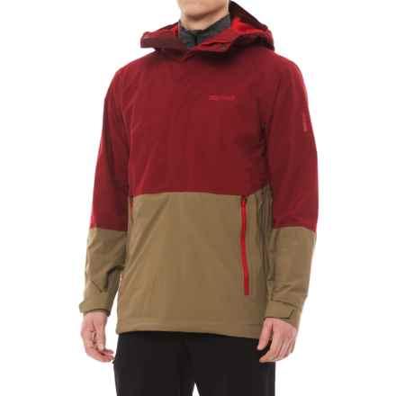 Marmot Crossover Anorak - Waterproof (For Men) in Brick/Desert Khaki - Closeouts