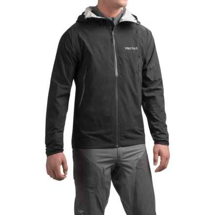 Marmot Crux Jacket - Waterproof (For Men) in Black - Closeouts