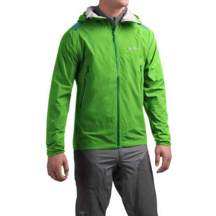 Marmot Crux Jacket - Waterproof (For Men) in Citrus Green - Closeouts