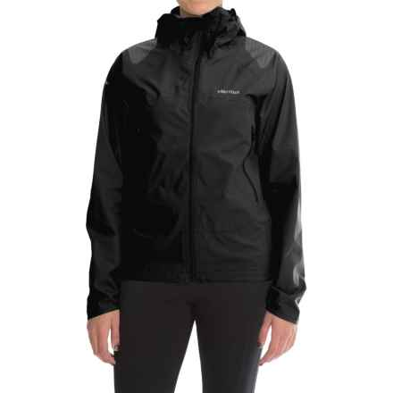 Marmot Crux Jacket - Waterproof (For Women) in Black - Closeouts