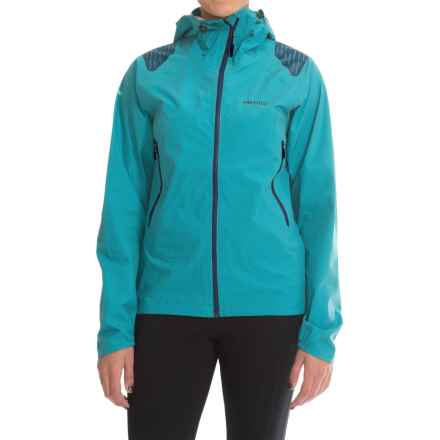 Marmot Crux Jacket - Waterproof (For Women) in Blue Sea - Closeouts