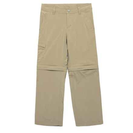 Marmot Cruz Convertible Pants - UPF 30 (For Boys) in Desert Khaki - Closeouts