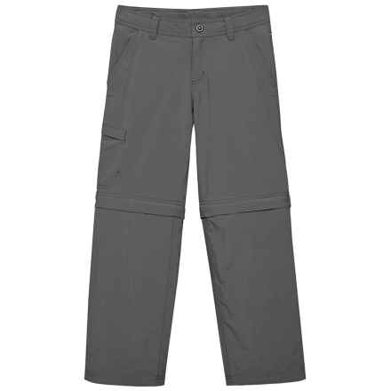 Marmot Cruz Convertible Pants - UPF 30 (For Little and Big Boys) in Slate Grey - Closeouts