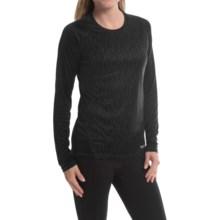 Marmot Crystal Shirt - UPF 50, Long Sleeve (For Women) in Black Vapor - Closeouts