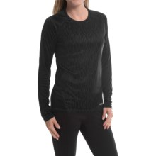 Marmot Crystal Shirt - UPF 50, Long Sleeve (For Women) in Black Vapor - Closeouts