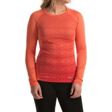 Marmot Crystal Shirt - UPF 50, Long Sleeve (For Women) in Emberglow - Closeouts