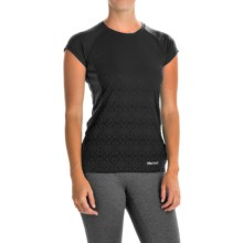 Marmot Crystal Shirt - UPF 50, Short Sleeve (For Women) in Black - Closeouts