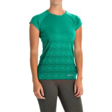 Marmot Crystal Shirt - UPF 50, Short Sleeve (For Women) in Gem Green - Closeouts