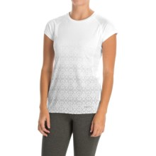 Marmot Crystal Shirt - UPF 50, Short Sleeve (For Women) in White - Closeouts