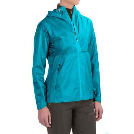 Marmot Crystalline Jacket - Waterproof (For Women) in Blue Sea - Closeouts