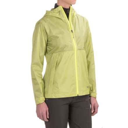 Marmot Crystalline Jacket - Waterproof (For Women) in Citrus Ice - Closeouts
