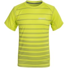 Marmot Cyclone T-Shirt - UPF 50, Short Sleeve (For Little and Big Boys) in Bright Lichen - Closeouts